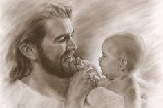 """Precious"" artwork by David Bowman. Portrays Jesus. And draws caricatures!"