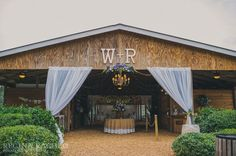 Burlap Tablecloth from Ballard Designs / Wedding by Cross Creek Ranch