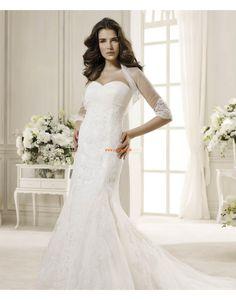 Brillant & Séduisant Printemps Appliques Robes de mariée 2014