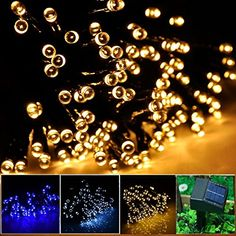 Solar Led String Lights Outdoor Delectable Lalapao 200 Led Fairy Christmas Lighting Decor Battery Operated