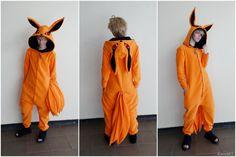 Kurama Kyuubi Tailed Beast from Naruto by KaeriART on Etsy