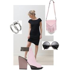 Black | Pink by purplemaroon on Polyvore featuring polyvore, fashion, style, 3.1 Phillip Lim, Boyy and Eddie Borgo