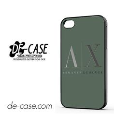 Armani Exchange DEAL-958 Apple Phonecase Cover For Iphone 4 / Iphone 4S
