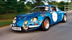 Cars with Rear wheel Drive:   http://www.autorevue.at/motorblog/zehn-autos-mit-heckantrieb.html  Renault Alpine A110