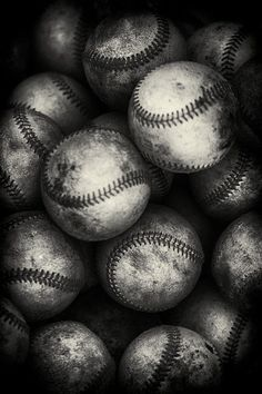 These baseballs represent the guilt and humanity of Birdy de8d210d9f