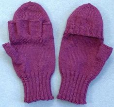 Baby Knitting Patterns, Mittens, Knit Crochet, Diy And Crafts, Sewing, Clothes, Fashion, Gloves, Tulips