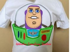 Buzz Light Year Toy Story Machine Embroidery Applique Design INSTANT DOWNLOAD by Whimsicalembroiderydesigns, $4.00 USD