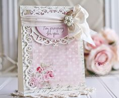 Introducing Becca Feeken to Create and Craft! Becca is a crafter and lover of papercrafts. Becca Feeken Cards, Spellbinders Cards, Send A Card, Engagement Cards, Beautiful Handmade Cards, Create And Craft, Get Well Cards, Creative Cards, Flower Cards