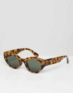 40b5c281a23d AJ Morgan small round sunglasses in antique tort