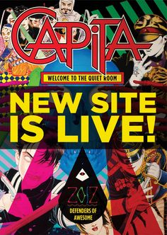 2012-2013 CAPiTA Snowboard Website Is Up!  Go check it out! | TransWorld SNOWboarding