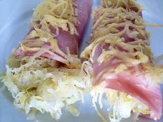 Zuurkool opgerold in ham – Sport Foodblog