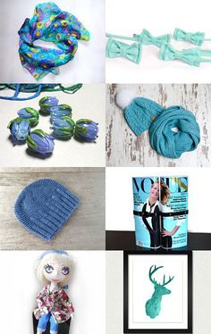 soft blue by людмила профатило on Etsy--Pinned with TreasuryPin.com