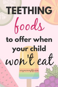 Baby tips for new moms pregnancy children Ideas Baby Teething Remedies, Baby Led Weaning, Baby Development, Baby Hacks, Baby Tips, Mom Hacks, Raising Kids, Trendy Baby, Baby Feeding