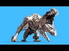 Big Dragon, Hd Video, Lion Sculpture, Animation, Statue, Film, Screens, Monsters, Projects