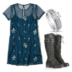 """""""Untitled #828"""" by amandafras2008 on Polyvore featuring Hollister Co., Retrò and BERRICLE"""