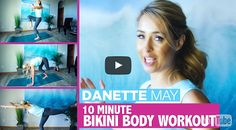 Get A Spring Bikini Body – 10 Minute Full Body Workout