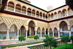 If you want to know how to tour Andalucia's capital city during a trip on a budget, check out when to visit the museums and monuments for free in Seville. Cadiz, Marrakech, Patio Central, Sevilla Spain, Hotels, Terracota, Museum Of Contemporary Art, Seville, Day Tours
