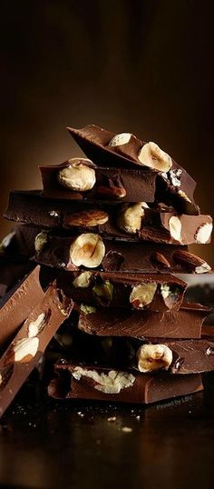 Chocolate and nuts   LBV ♥✤   BeStayBeautiful