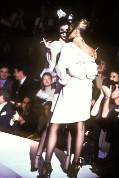 Thierry Mugler Haute Couture F/W 1995