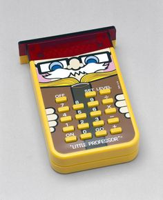The Little Professor   This was my first calculator!