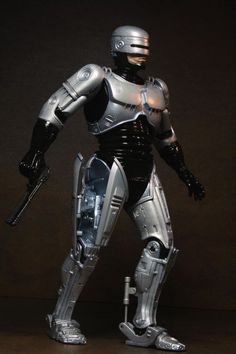 """Spring-Loaded Holster Robocop action figure. Marvel of engineering at 7""""!"""