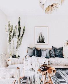 Boho Chic Style Living Room Modern Bohemian Home Decor
