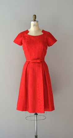 25% OFF THE SHOP... The Red Hots dress vintage by DearGolden
