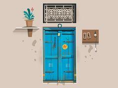 Doors of Expression by ranganath krishnamani on Dribbble