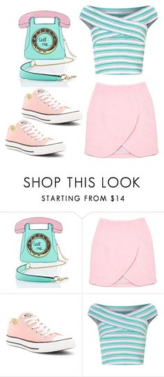 """""""Call me... maybe"""" by always-right ❤ liked on Polyvore featuring 3 AM Imports, Carven, Converse and Miss Selfridge"""