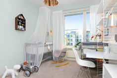 Stockholm apartament - children's room