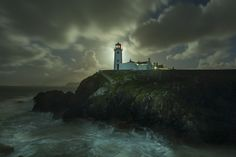 Fanad Lighthouse by Moonlight by Gregory Clarke on 500px