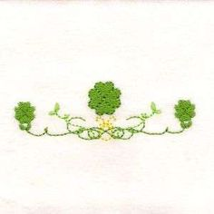 <?echo St Patricks Day Borders ?> Machine Embroidery Design
