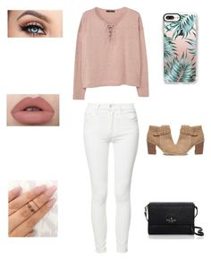 Untitled #43 by itsnina101 on Polyvore featuring polyvore, fashion, style, MANGO, Mother, Sole Society, Kate Spade, Casetify and clothing