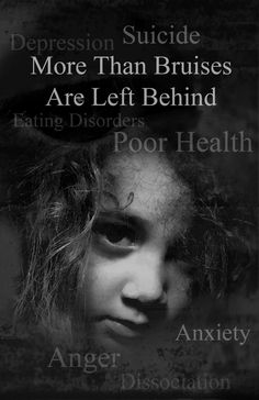 This is improtant because it says that there is more to child abuse than what meets the eye. Child abuse causes children to give up in life and even commit suicide. It lasts a lifetime and many children grow up not knowing how to treat people because all they've known is abuse.
