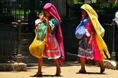Mayan women in San Cristobal, Mexico