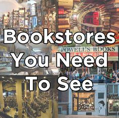 Bookstores You need to see
