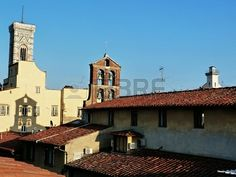 View from the roof of the Giotto bell tower, Florence, Italy
