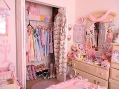 cute kawaii room inspiration dream cutie pink amazing girly decoration closet lolita costumes deco
