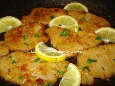 Scaloppine di lonza al limone un secondo piatto veloce da preparare, la carne è morbida e gustosa
