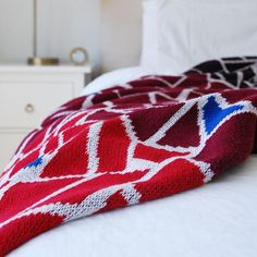 The Mosaic Throw is inspired by Barcelona. Seek & Swoon designs travel-inspired knit cotton blankets in Portland, Oregon. American made from recycled cotton. Couch Throws, Knitted Throws, Cotton Blankets, American Made, Art And Architecture, Coloring Pages, Mosaic, Recycling, Burgundy