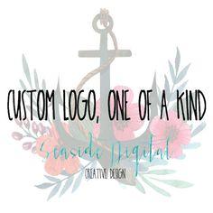 Custom Logo Design  One of a Kind Lovely by SparklingShoesGirl