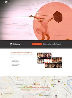 Website NovAdo [www.novado.fr] pour la MJC Rodez.