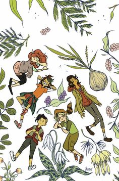 Lumberjanes Makin' The Ghost Of It 2016 Special cover by Jen Wang.