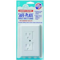 For high use outlets, these are better than constantly putting plugs in and taking them out.  These plates require you to slide to the right before pushing in the plug.  Clever and very useful.