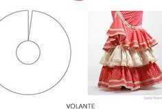 Five Types of ruffles You Should Know Flamenco Costume, Flamenco Skirt, Costume Dress, Skirt Patterns Sewing, Knitting Patterns, Foam Sheet Crafts, Gypsy Culture, First Sewing Projects, How To Make Clothes