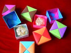 Cajitas de Origami