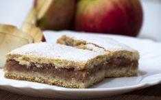 Jablkový  koláčik Czech Recipes, Russian Recipes, Apple Cake, Desert Recipes, Sweet Recipes, Cheesecake, Deserts, Pudding, Favorite Recipes