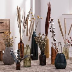 Amazon Home Decor, Home Decor Store, Home Office Ideas For Women, Flower Vases, Flower Arrangements, Earthy Home Decor, Rustic Decor, Deco Floral, Dried Flowers