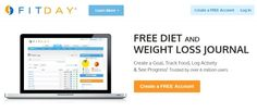 5. FitDay / Top 5 Free Online Weight Loss Tracking Tools – Weight Management Tools
