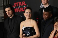 """What is that look? It's like, """"No. Ben doesn't end up with Rey in this movie. Thanks reminding me."""""""
